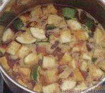 Фото приготовления рецепта: Запеканка из йогурта с ягодами - шаг №7