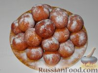 Фото к рецепту: Пончики из творога