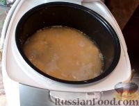 Фото приготовления рецепта: Кукурузная каша с курицей (в мультиварке) - шаг №9