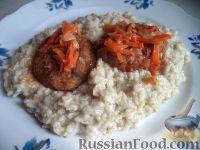 Фото к рецепту: Рыбные тефтели в кисло-сладком соусе