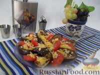 Фото к рецепту: Быстрая овощная закуска