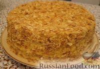 Фото к рецепту: Торт Наполеон (мягкий)