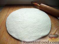 Фото к рецепту: Дрожжевое тесто для пиццы Способ I