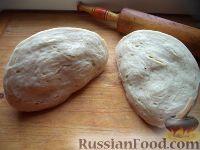 Фото к рецепту: Дрожжевое тесто для пиццы (второй способ)