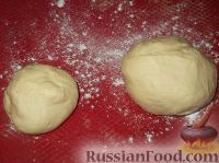 Фото приготовления рецепта: Пирог открытый с повидлом - шаг №8