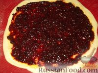 Фото приготовления рецепта: Пирог открытый с повидлом - шаг №10