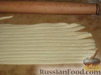 Фото приготовления рецепта: Пирог открытый с повидлом - шаг №12