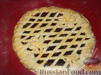 Фото приготовления рецепта: Пирог открытый с повидлом - шаг №14