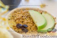 Фото к рецепту: Яблочный крамбл