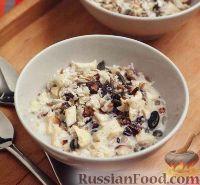 Фото к рецепту: Мюсли с орехами, семечками и сухофруктами