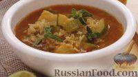 Фото к рецепту: Острый суп с цуккини