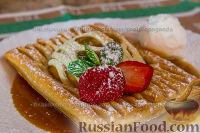 Фото к рецепту: Яблочный десерт из слоеного теста