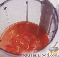Фото приготовления рецепта: Смузи овощной - шаг №2