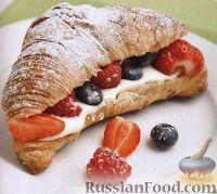Фото к рецепту: Круассаны на завтрак