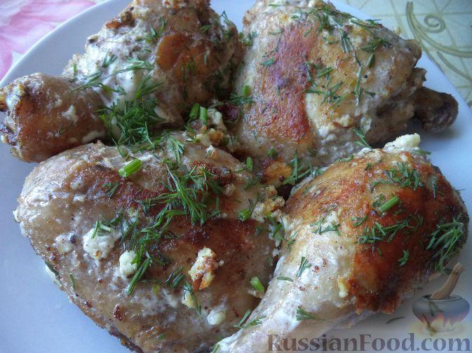 рецепты куриных окорочка с фото