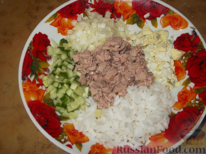 Салаты из печени трески  рецепты с фото на Поварру 40