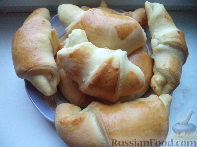 пирожки из дрожжевого теста с творогом в духовке