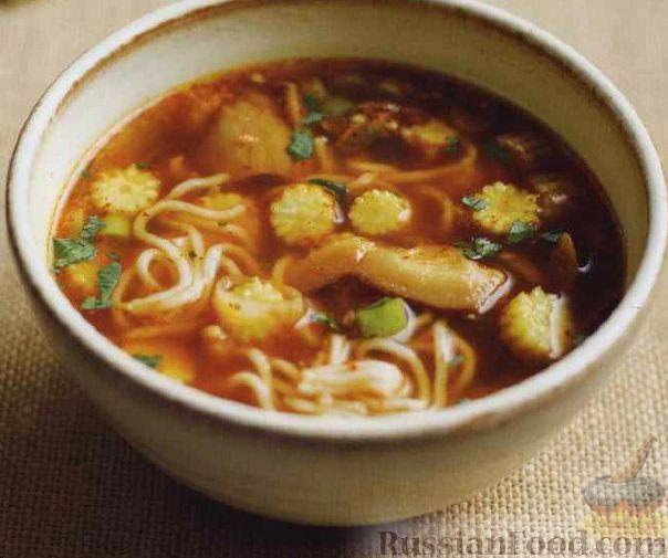 тайский нудлс суп рецепт