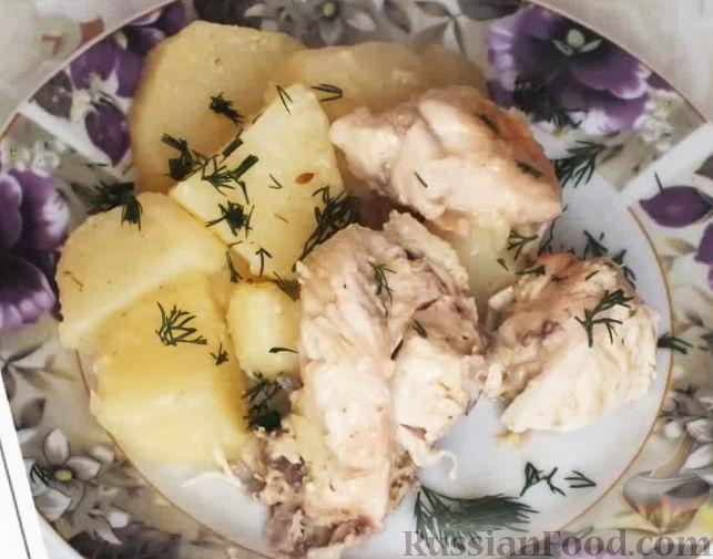 подлива из курицы рецепт с фото со сметаной и чесноком