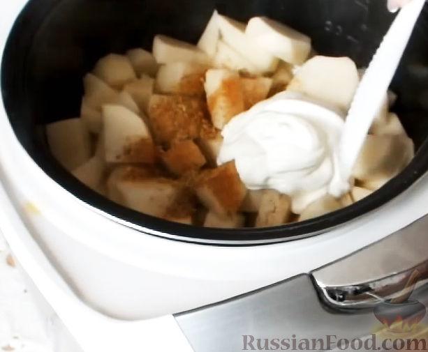 рецепт приготовления лисичек в сметане с картошкой в мультиварке