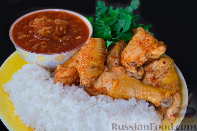 чахохбили из курицы со сметаной рецепт