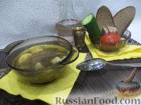 Фото к рецепту: Зеленый борщ с пшеном