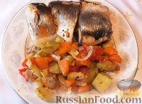 Фото к рецепту: Сельдь с овощами (в мультиварке)