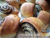 Фото к рецепту: Постные булочки с маком