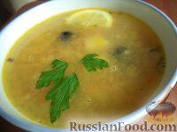 Фото к рецепту: Простой суп из чечевицы