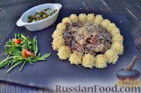 Фото к рецепту: Говядина в сливочном соусе