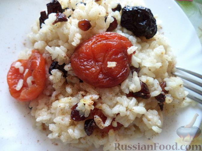 как приготовить кулеш с сухофруктами и рисом
