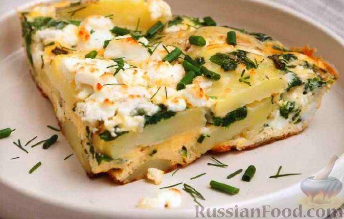 Рецепты с сыром фета с фото