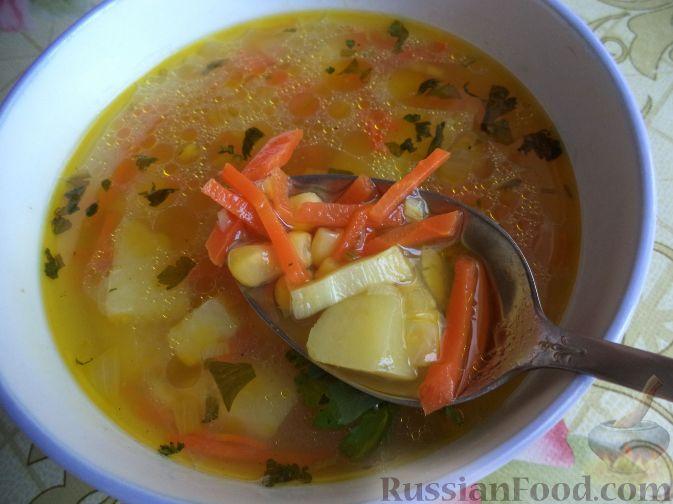 рецепт картотовельной суп