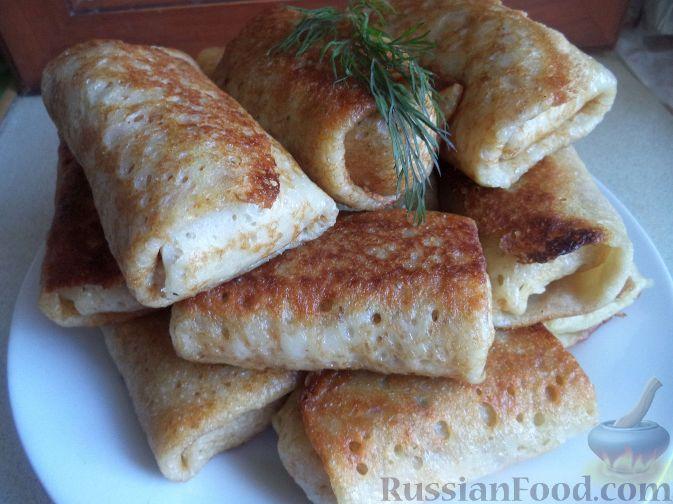 блины с картошкой и грибами рецепт