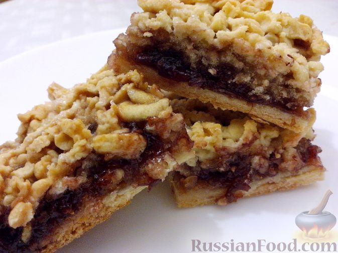 песочное печенье с вареньем рецепт с крошкой