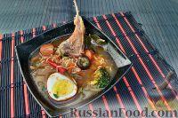 Фото к рецепту: Азиатский суп с ягнятиной