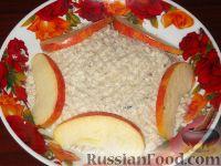 Фото к рецепту: Форшмак из сельди и яблок