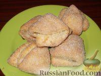 Фото к рецепту: Творожное печенье «Эчпочмак»