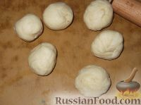 Фото приготовления рецепта: Творожное печенье «Эчпочмак» - шаг №6
