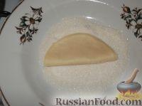 Фото приготовления рецепта: Творожное печенье «Эчпочмак» - шаг №9