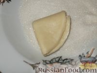 Фото приготовления рецепта: Творожное печенье «Эчпочмак» - шаг №10
