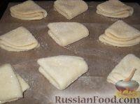Фото приготовления рецепта: Творожное печенье «Эчпочмак» - шаг №11