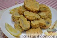 Фото к рецепту: Праздничный толстолобик в винном кляре