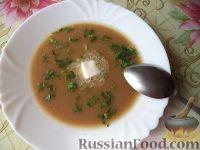 Фото к рецепту: Суп-пюре из фасоли и чечевицы