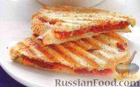 Фото к рецепту: Сэндвичи на пресс-гриле