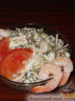 Фото к рецепту: Салат «Морское чудо»