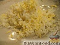 Фото приготовления рецепта: Салат с кальмарами - шаг №6