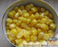 Фото приготовления рецепта: Салат с кальмарами - шаг №7