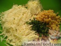Фото приготовления рецепта: Салат с кальмарами - шаг №8