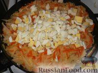 Фото приготовления рецепта: Пирог с капустой - шаг №15
